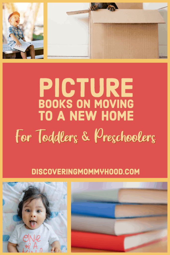 Picture Books on Moving to a New Home: for Toddlers and Preschoolers