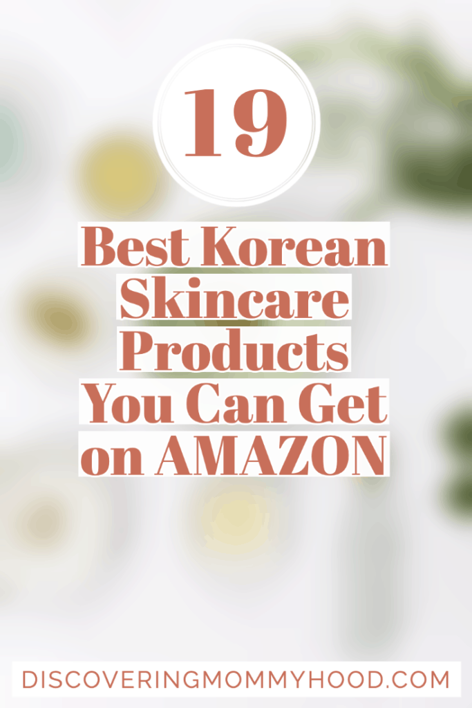 19 Best Korean Skincare Products You Can Get on Amazon