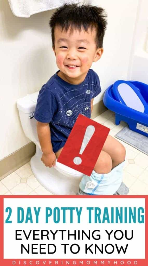 Potty Training in 2 Days! The Ultimate Guide to Potty Train Your Toddler