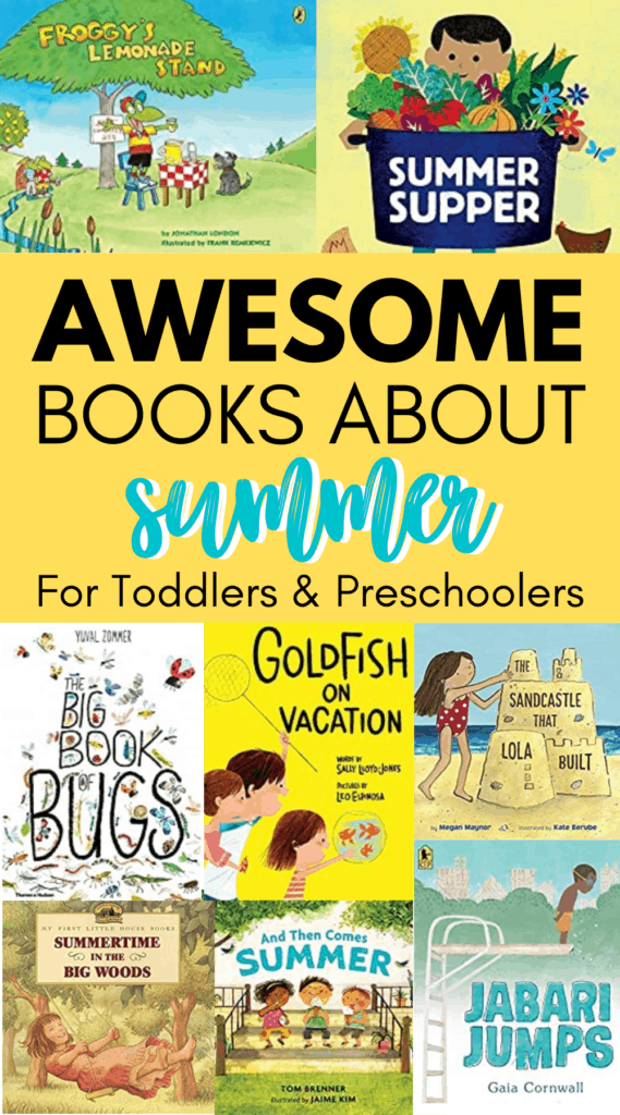 Best Books About Summer For Kids