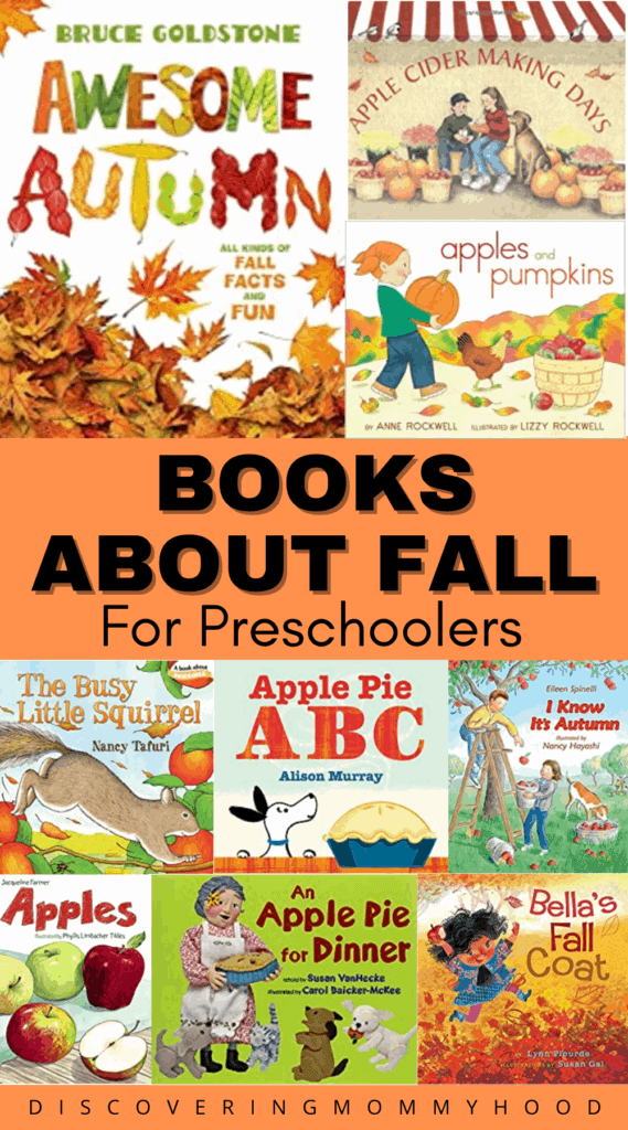 Books About Fall for Preschoolers