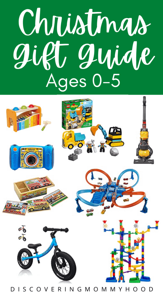 Christmas Gift Guide for Kids 0-5 Years Old