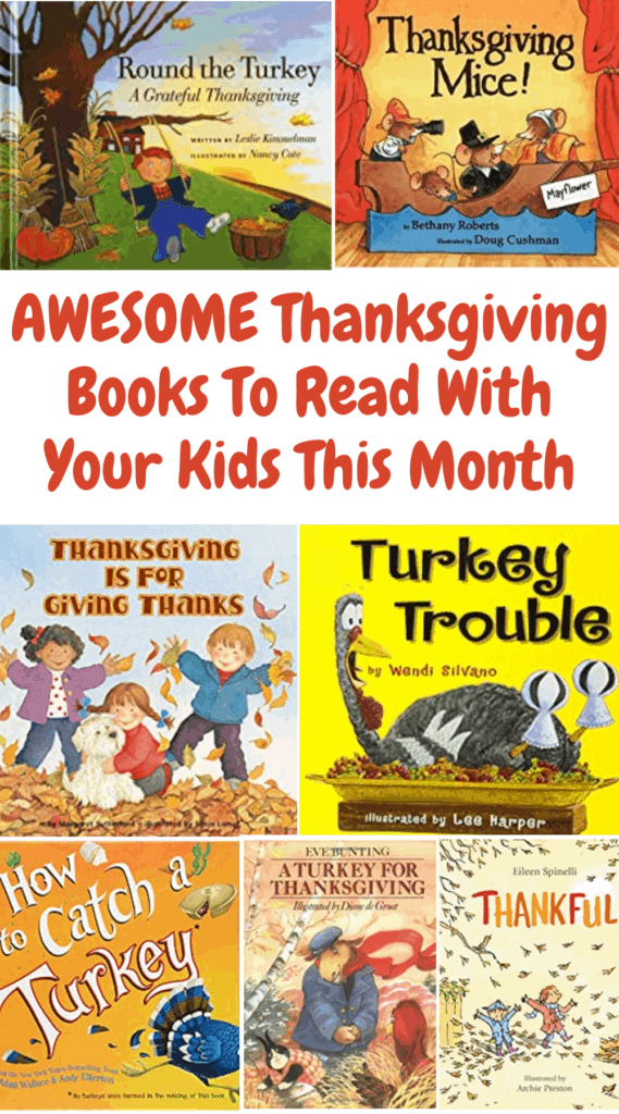 Great Thanksgiving Books To Read With Your Kids This Month