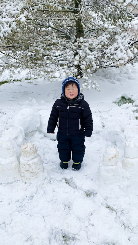Awesome Mom Hack For Snow Play Outside With Littles