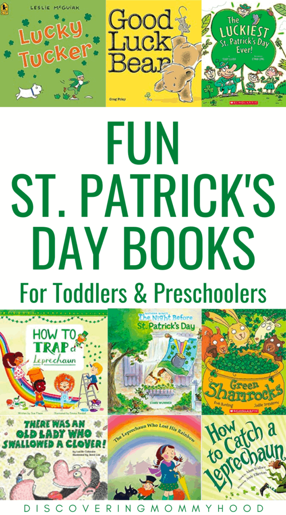 Fun St. Patrick's Day Books for Toddlers and Preschoolers