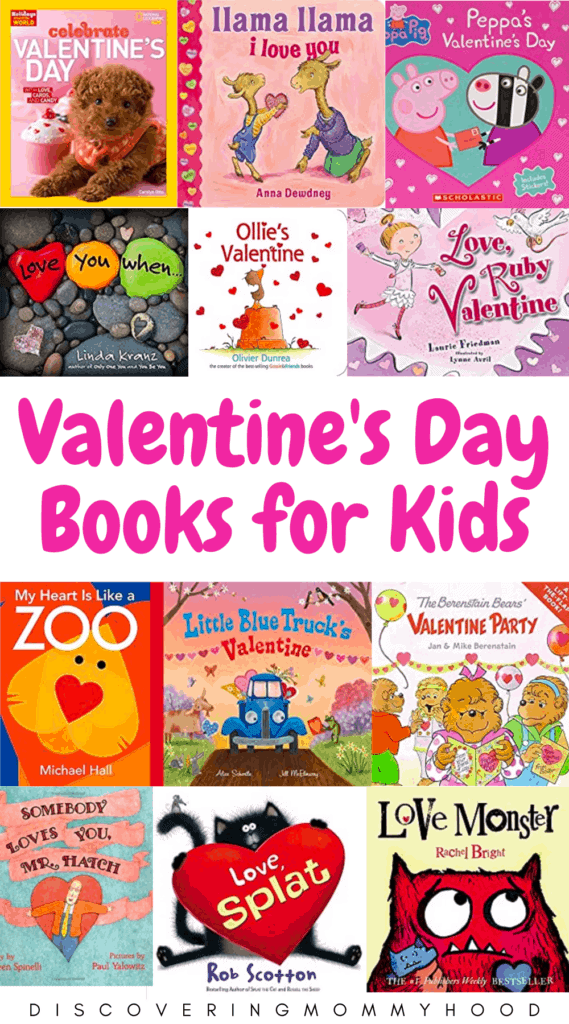 Sweet Valentine's Day Books for Preschoolers