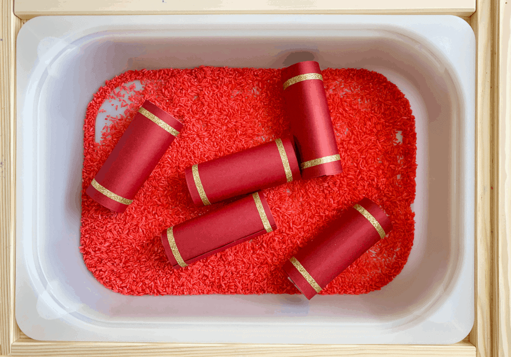 How to Make Chinese New Year Firecrackers