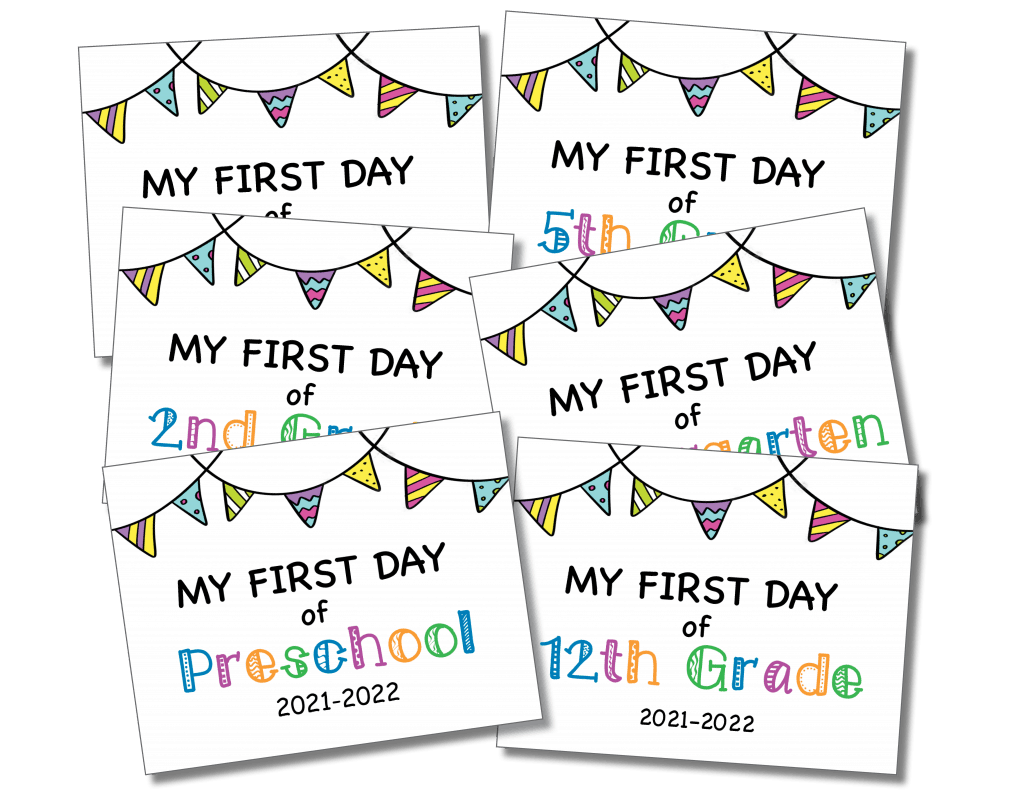 First Day of School 2021-2022_COLOR